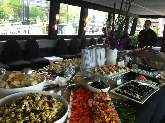Corporate Yacht Food Stations Vancouver